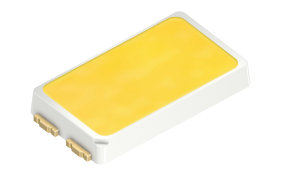 The Osram Opto Semiconductors Duris E 5 LED features high efficacy in an industry standard 5.6 mm x 3.0 mm package.