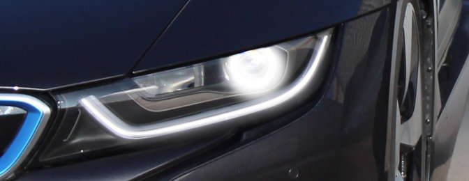 Laser light new headlight technology  OSRAM