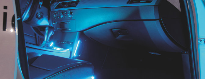 ambient lighting with led ambient lighting