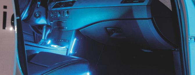 ambient lighting with led interior lighting osram. Black Bedroom Furniture Sets. Home Design Ideas