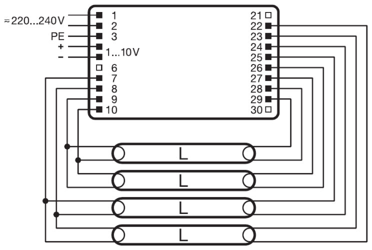 f96t12 electronic ballast wiring diagram images and power amp osram ballast fluorescent lights wiring diagram wiring diagram