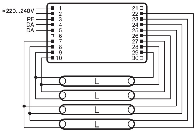 qti dali 4x... dim diagrams 500259 metal halide ballast wiring diagram hid ballast philips advance ballast wiring diagram at aneh.co