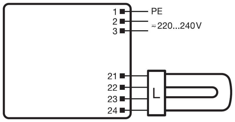 2g11 wiring diagram pro elec lamp holder g compact