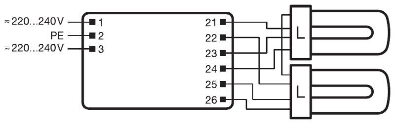 osram quicktronic ballast wiring diagram   40 wiring