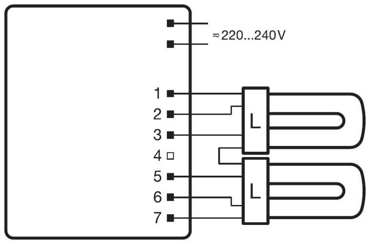 quicktronic multiwatt